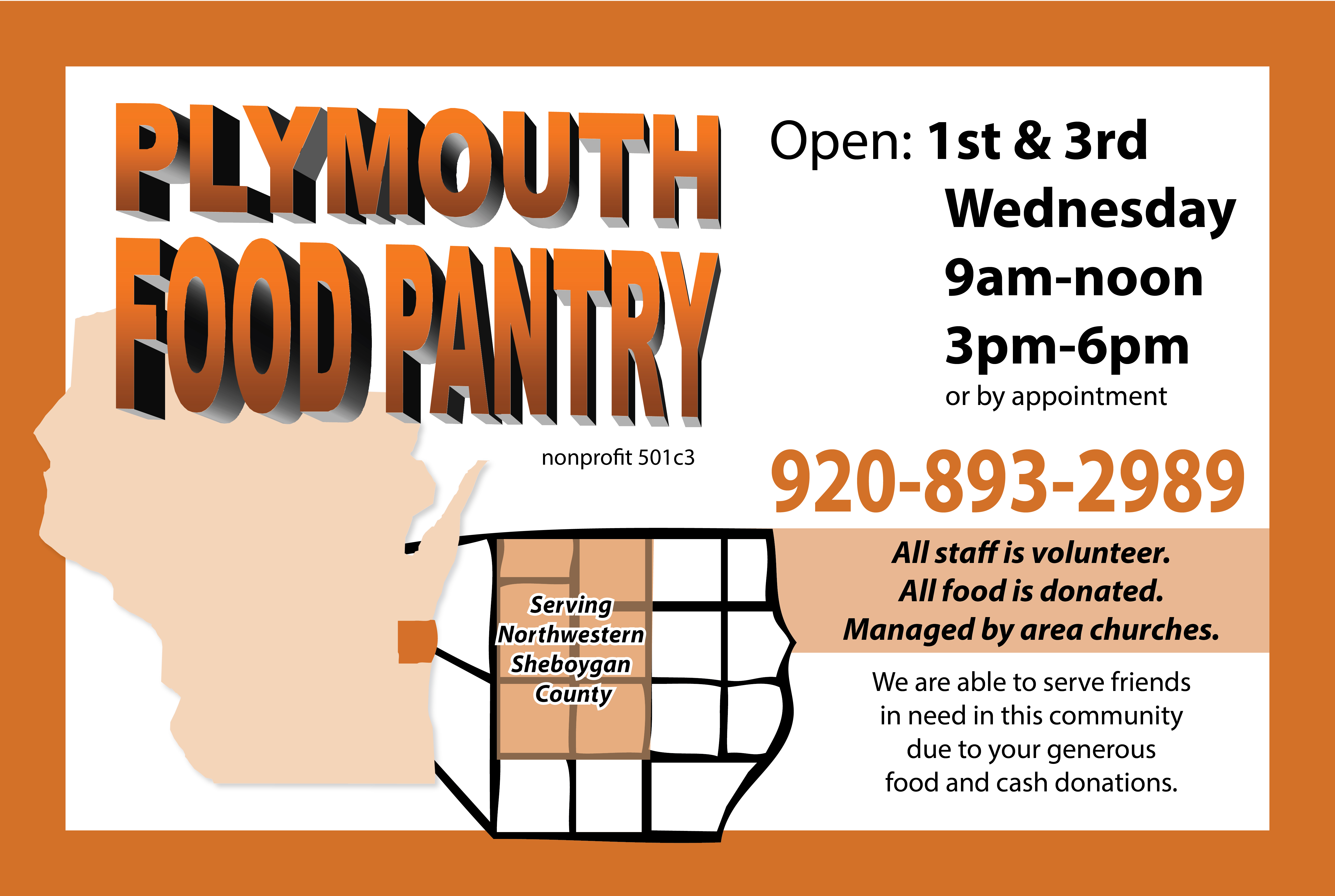 Food Pantry Plymouth Wisconsin